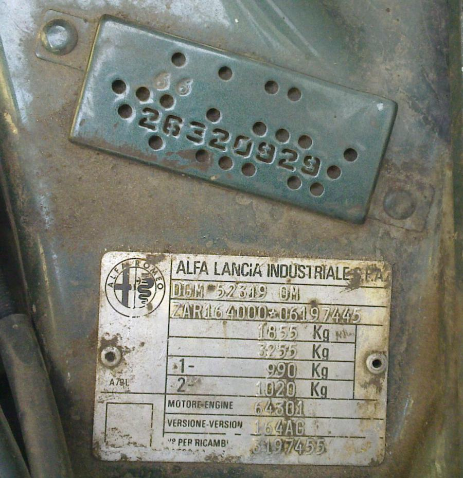Code Light After Ecu Change Alfa Romeo Bulletin Board Forums 1990 Fuse Box Im Not Entirely Sure What The Car Model Really Is Ive Opened And Inside Was Printed Fl 92 But Seat Belt Has Logo A
